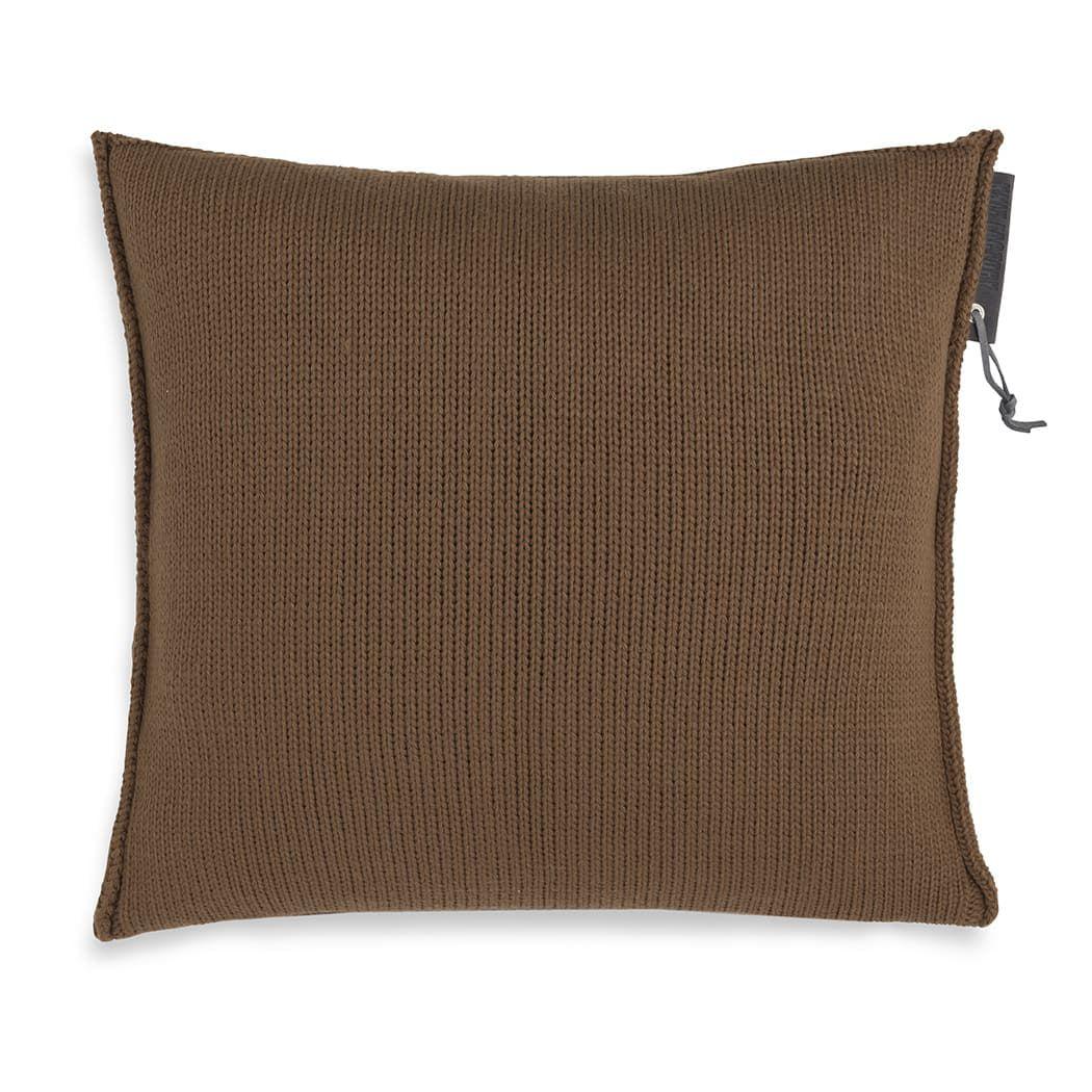knit factory 1431235 joly kussen 50x50 tobacco 2