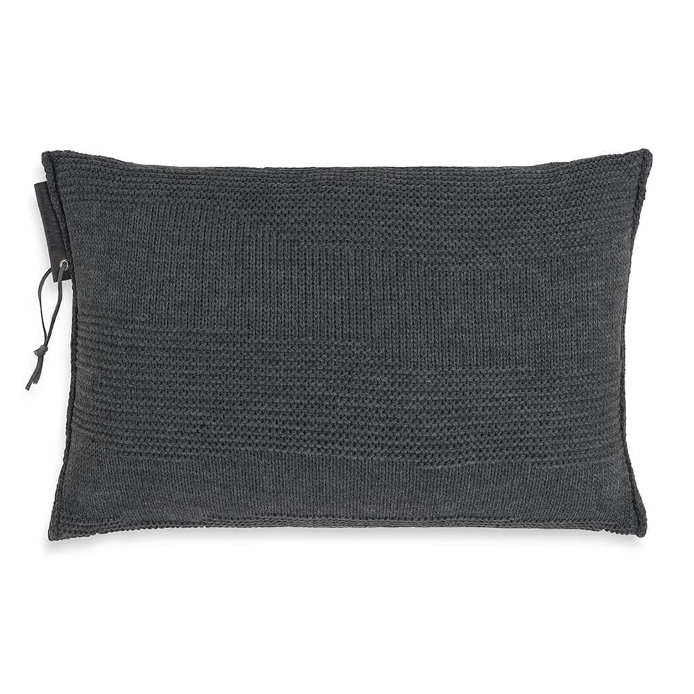 knit factory 1431310 joly kussen 60x40 antraciet 1