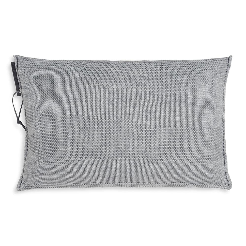 knit factory 1431311 joly kussen 60x40 licht grijs 1
