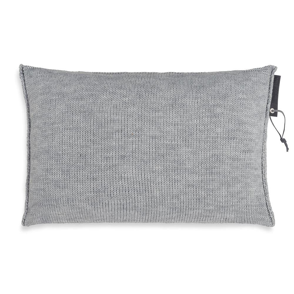 knit factory 1431311 joly kussen 60x40 licht grijs 2