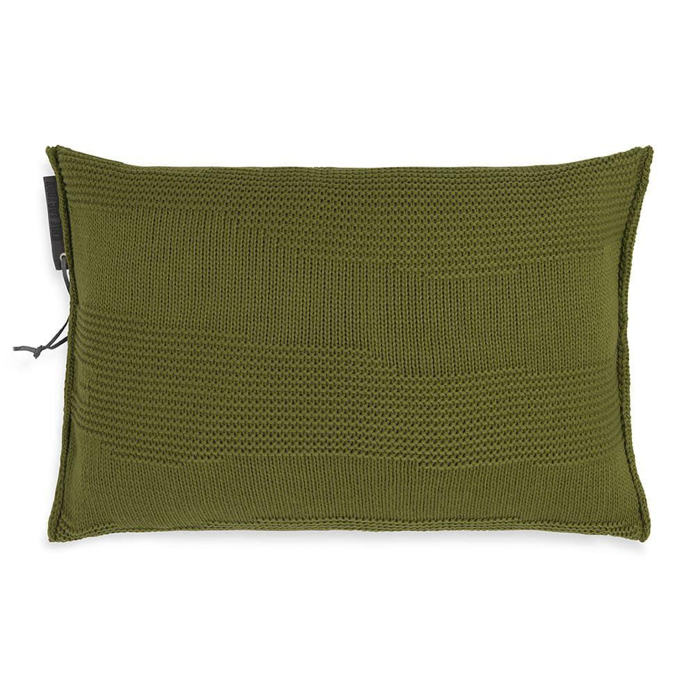 knit factory 1431315 joly kussen 60x40 mosgroen 1