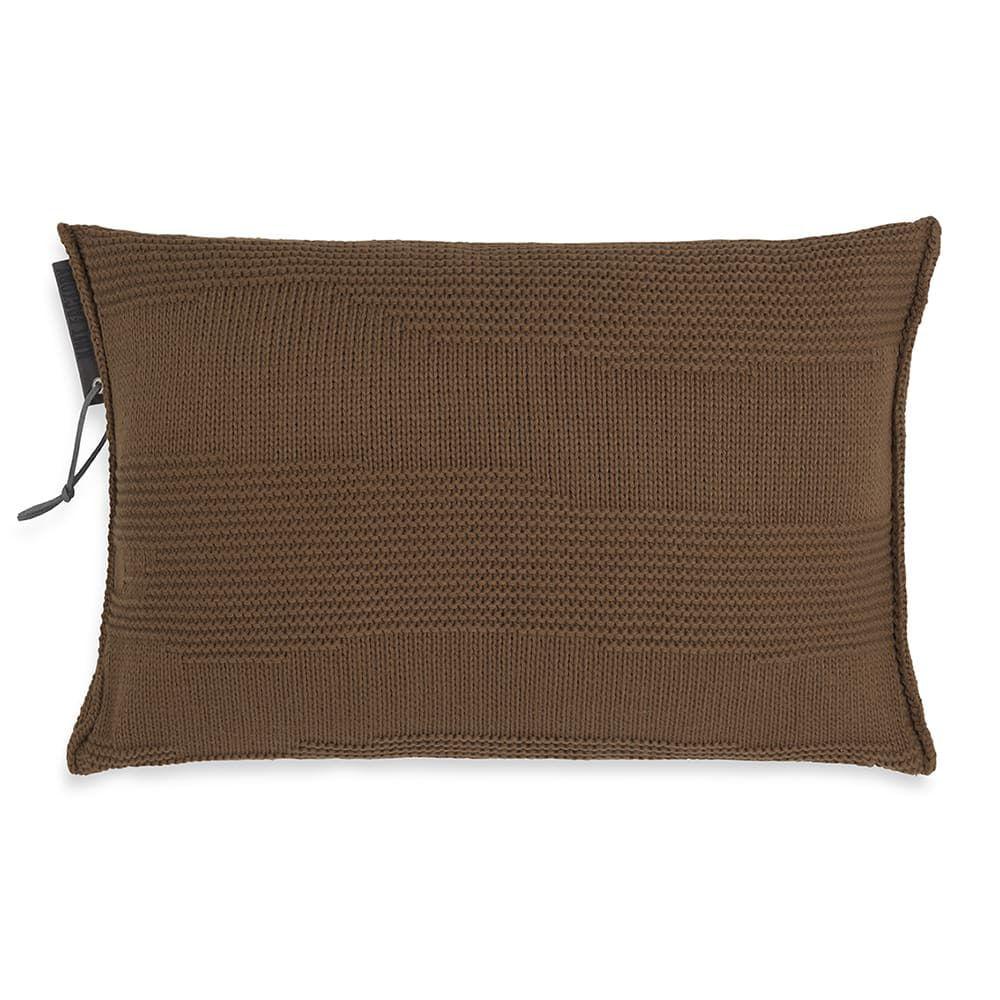 knit factory 1431335 joly kussen 60x40 tobacco 1