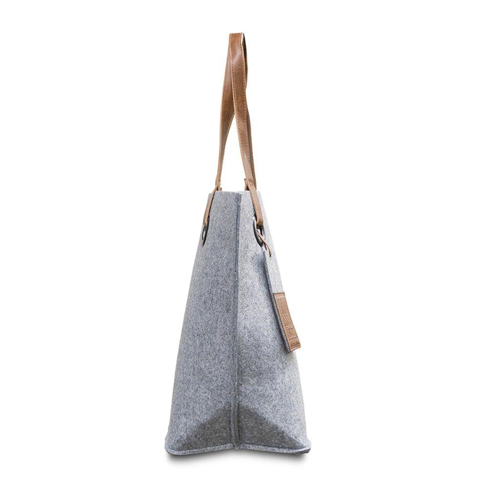 knit factory 1709011 tess schoudertas licht grijs 2