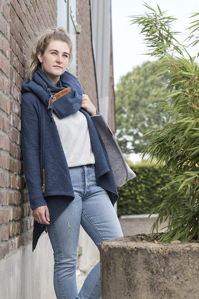 knit factory 1719111 gwen handtas licht grijs 4