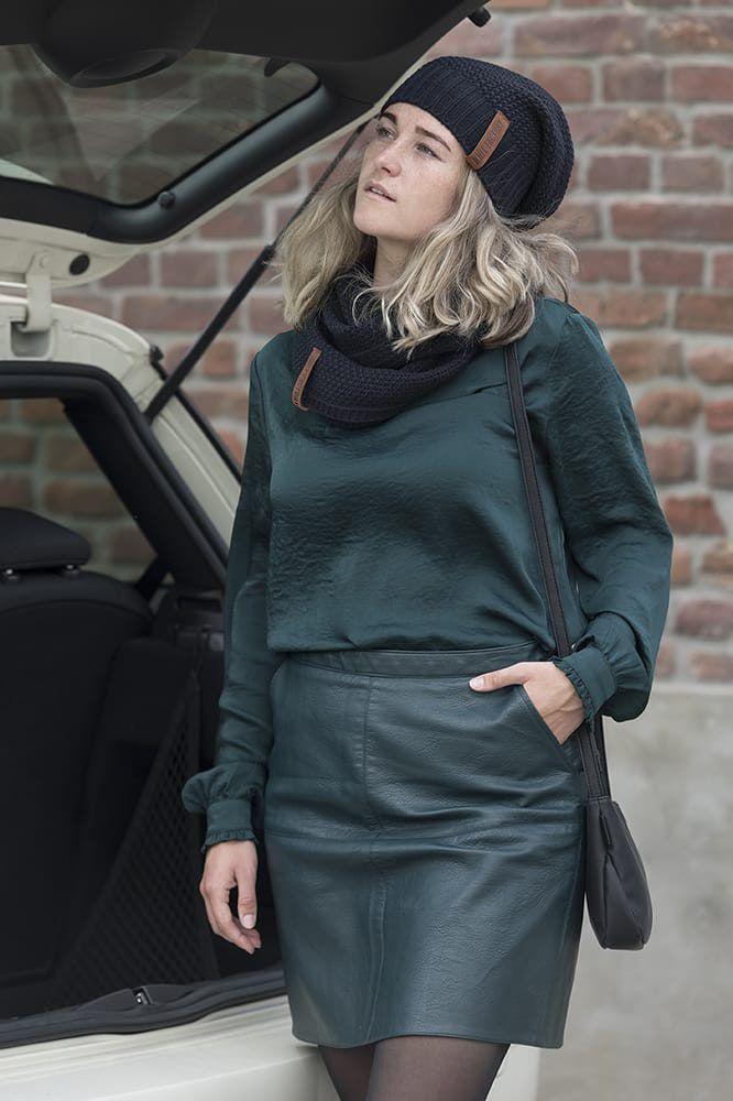knit factory 1729200 sofia schoudertas zwart 10