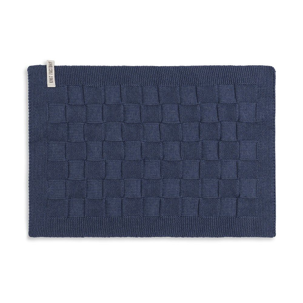 knit factory 2000213 placemat jeans