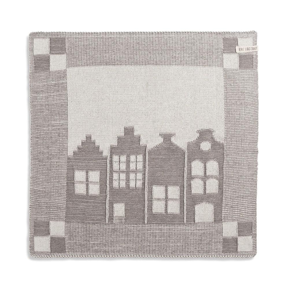 knit factory 2070078 keukendoek huis ecru taupe