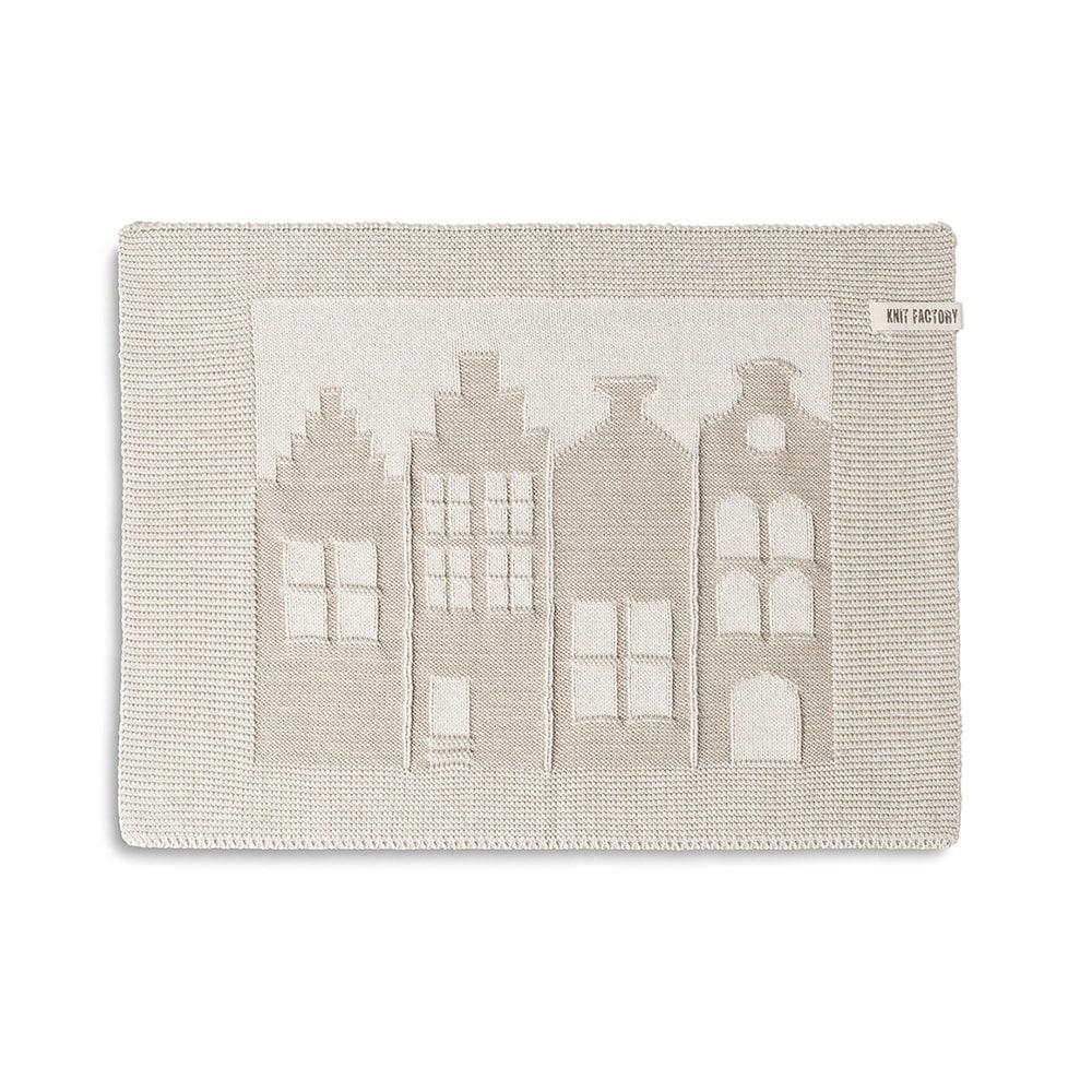 knit factory 2070271 placemat huis ecru linnen