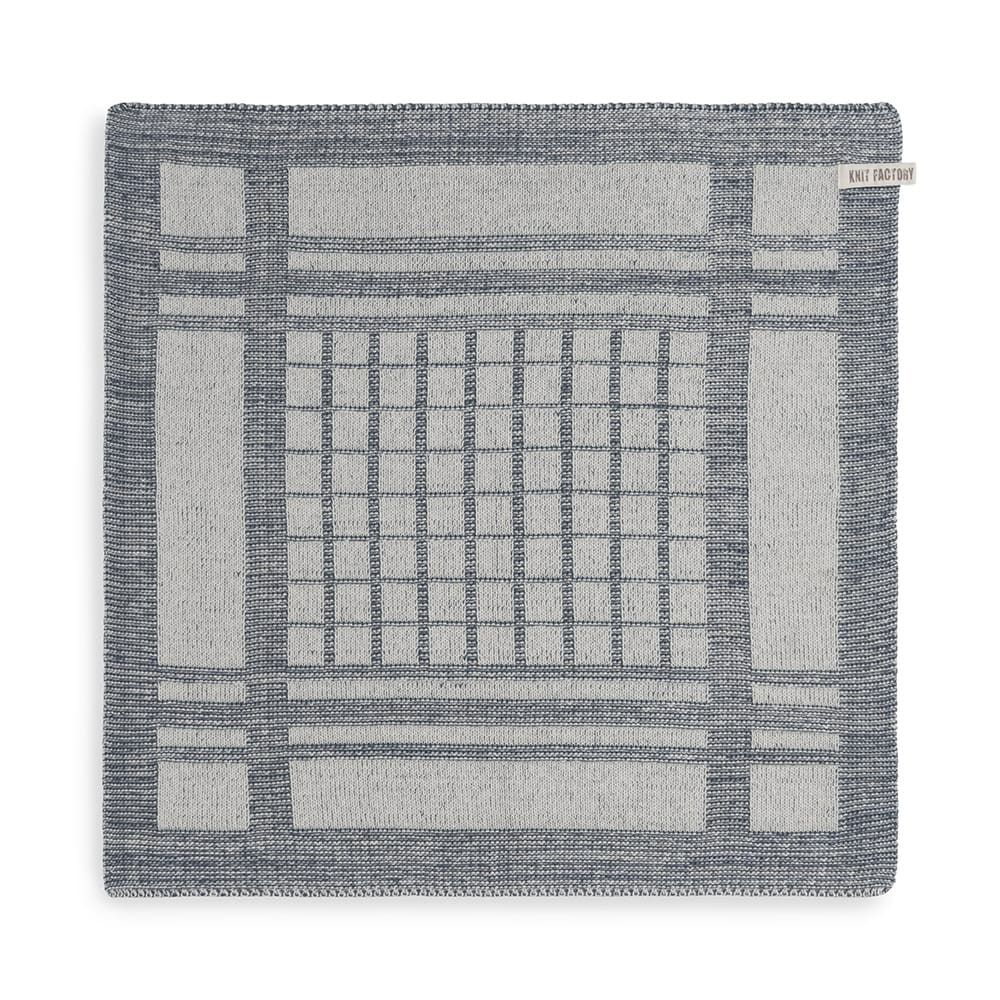knit factory 2180082 keukendoek emma ecru granit 1