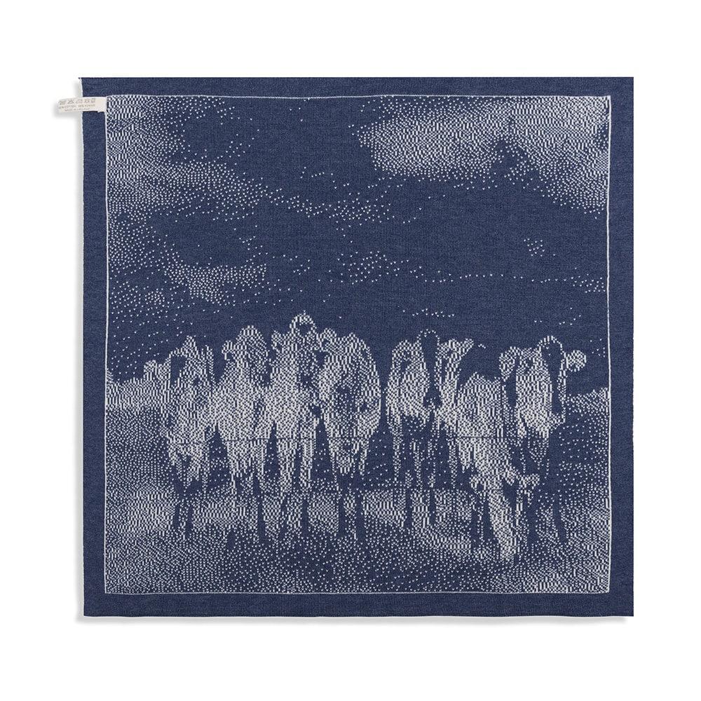 knit factory 2310077 keukendoek koeien ecru jeans 2