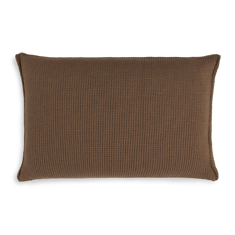 knit factory kf11301303550 kussen 60x40 uni tobacco 2