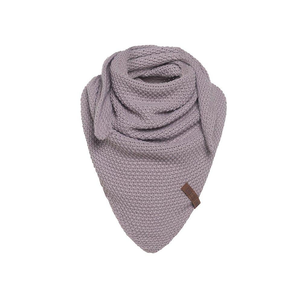 knit factory kf120059034 coco omslagdoek junior mauve 1