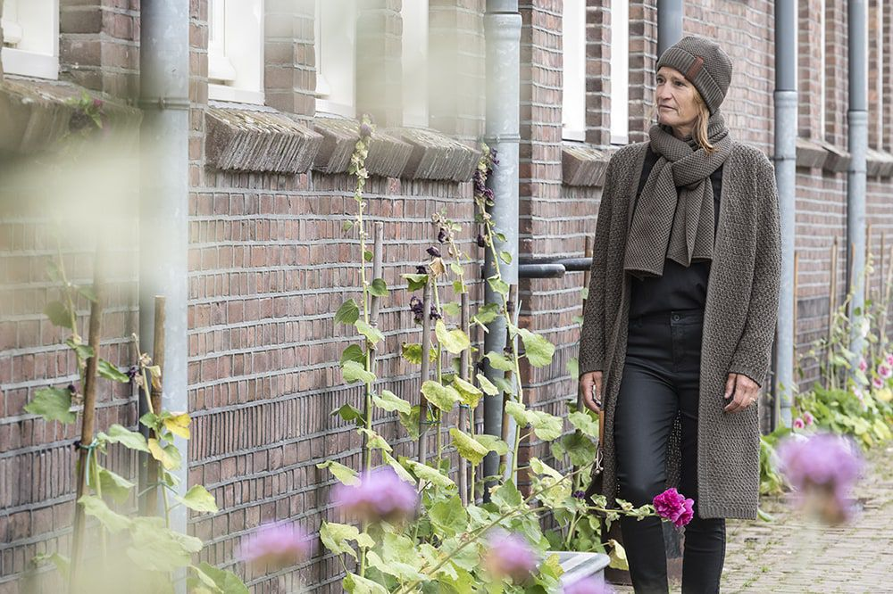 knit factory kf123065029 jazz sjaal taupe 2
