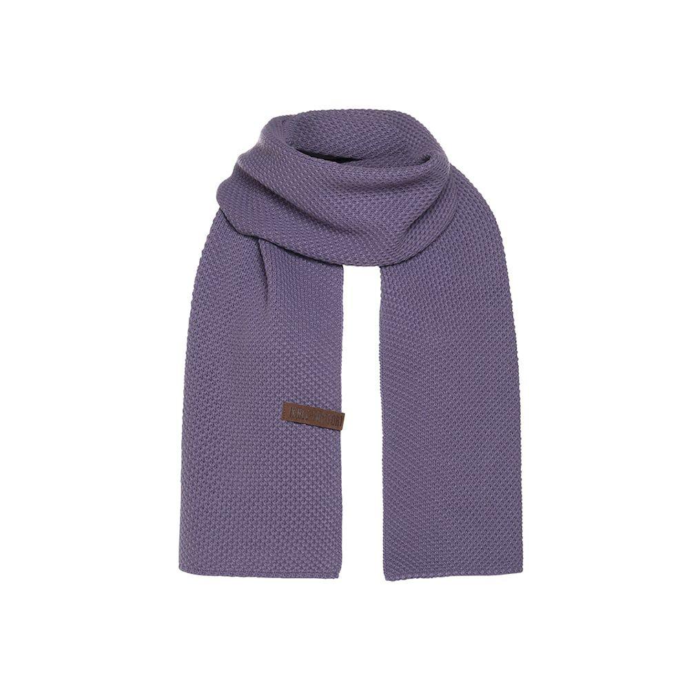 knit factory kf123065043 jazz sjaal violet 1