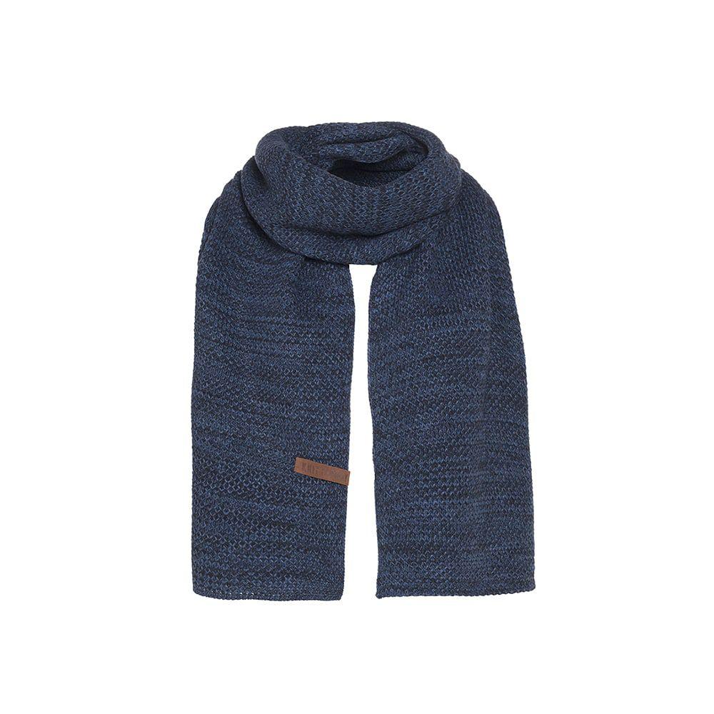 knit factory kf123065084 jazz sjaal jeans navy 1