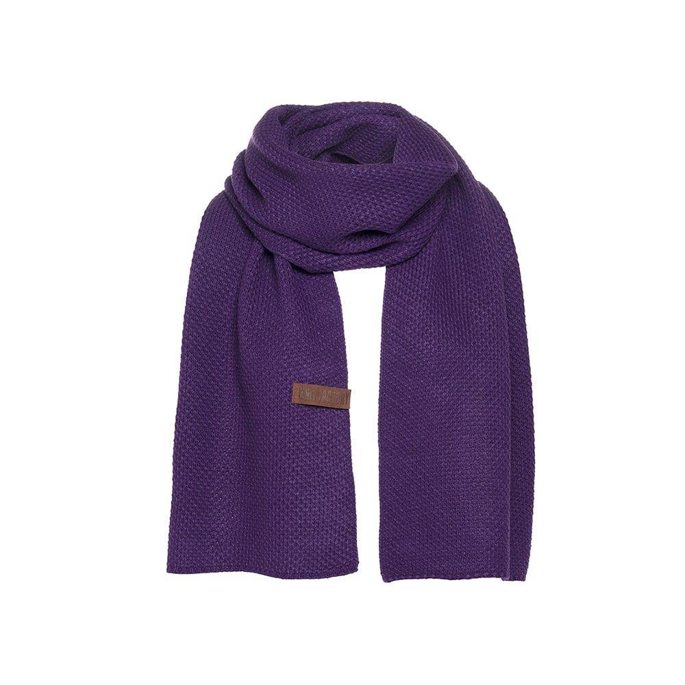 knit factory kf123065123 jazz sjaal purple 1