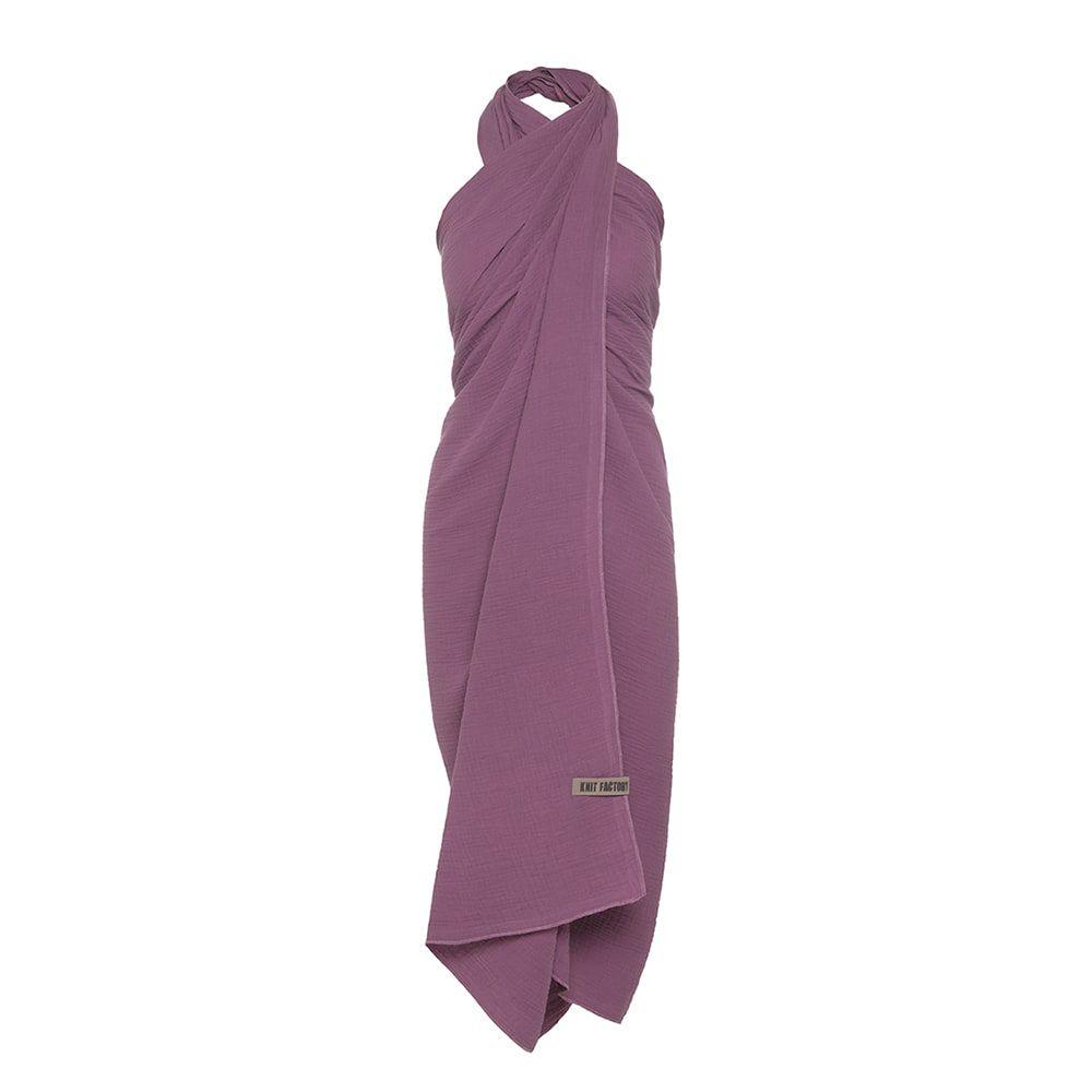knit factory kf128056043 liv pareo violet 1