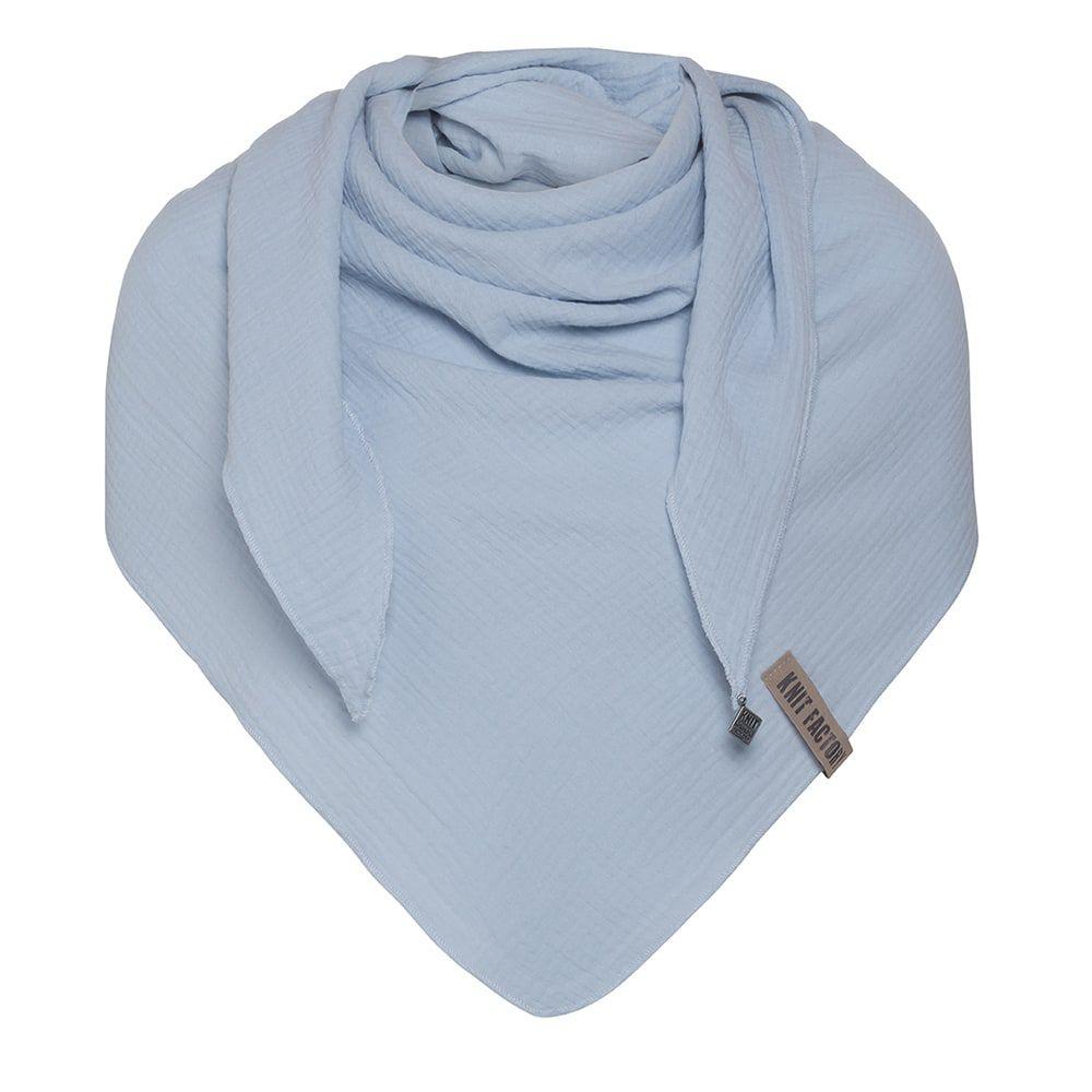 knit factory kf128060032 liv omslagdoek indigo 1