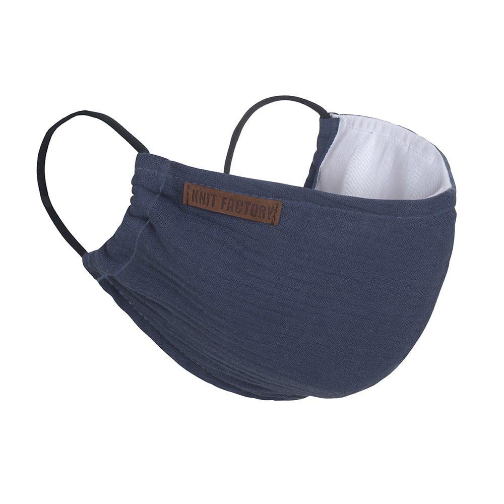 knit factory kf12810501350 liv mondmasker jeans 1