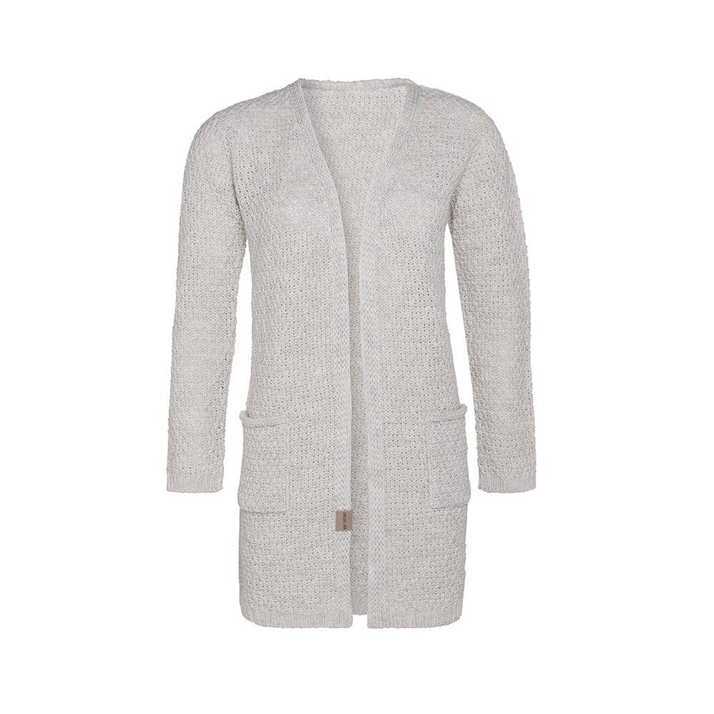 knit factory kf13308101251 luna vest beige 4042 1
