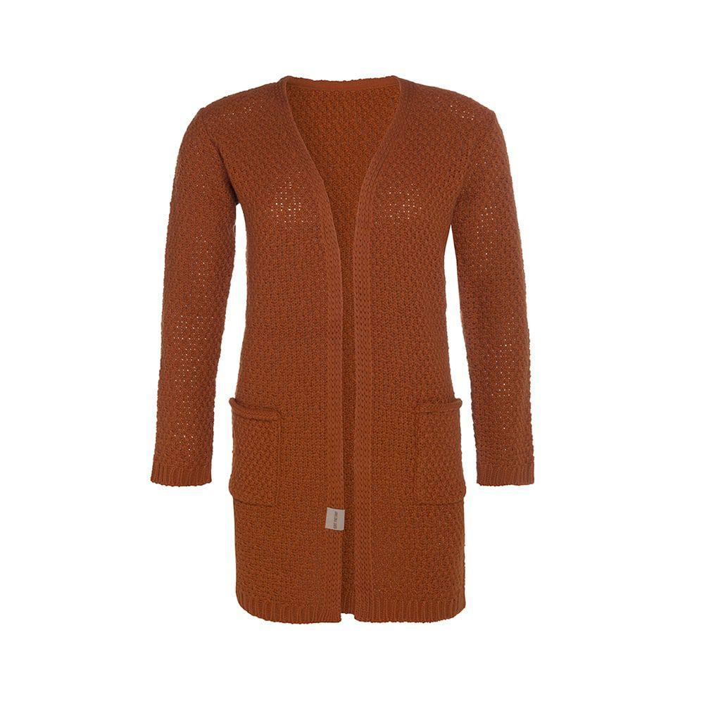 knit factory kf13308101651 luna vest terra 4042 1
