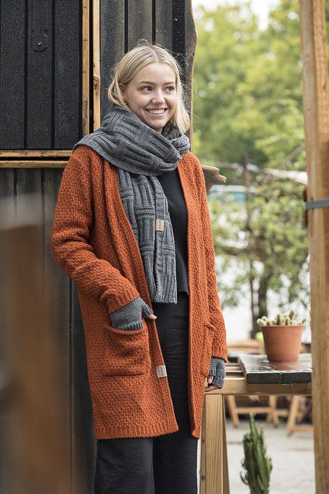 knit factory kf13308101651 luna vest terra 4042 2