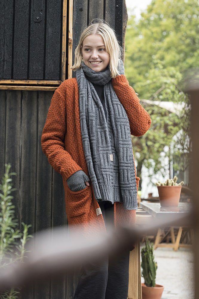 knit factory kf13308101651 luna vest terra 4042 3