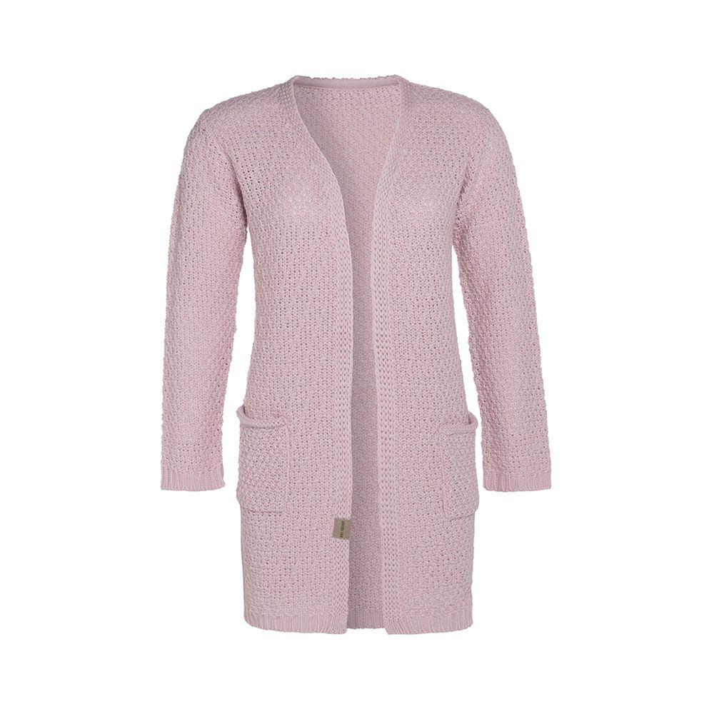 knit factory kf13308102151 luna vest roze 4042 1