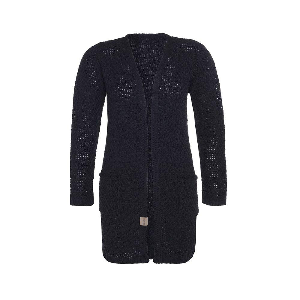 knit factory kf13308102651 luna vest navy 4042 1