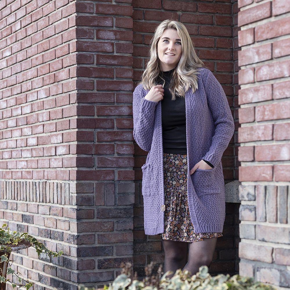 knit factory kf13308104349 luna vest violet 3638 2