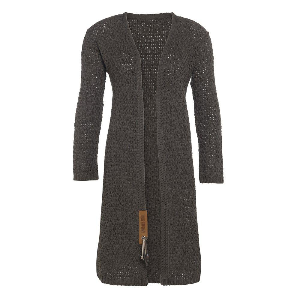 knit factory kf13308202951 luna vest taupe 4042 1