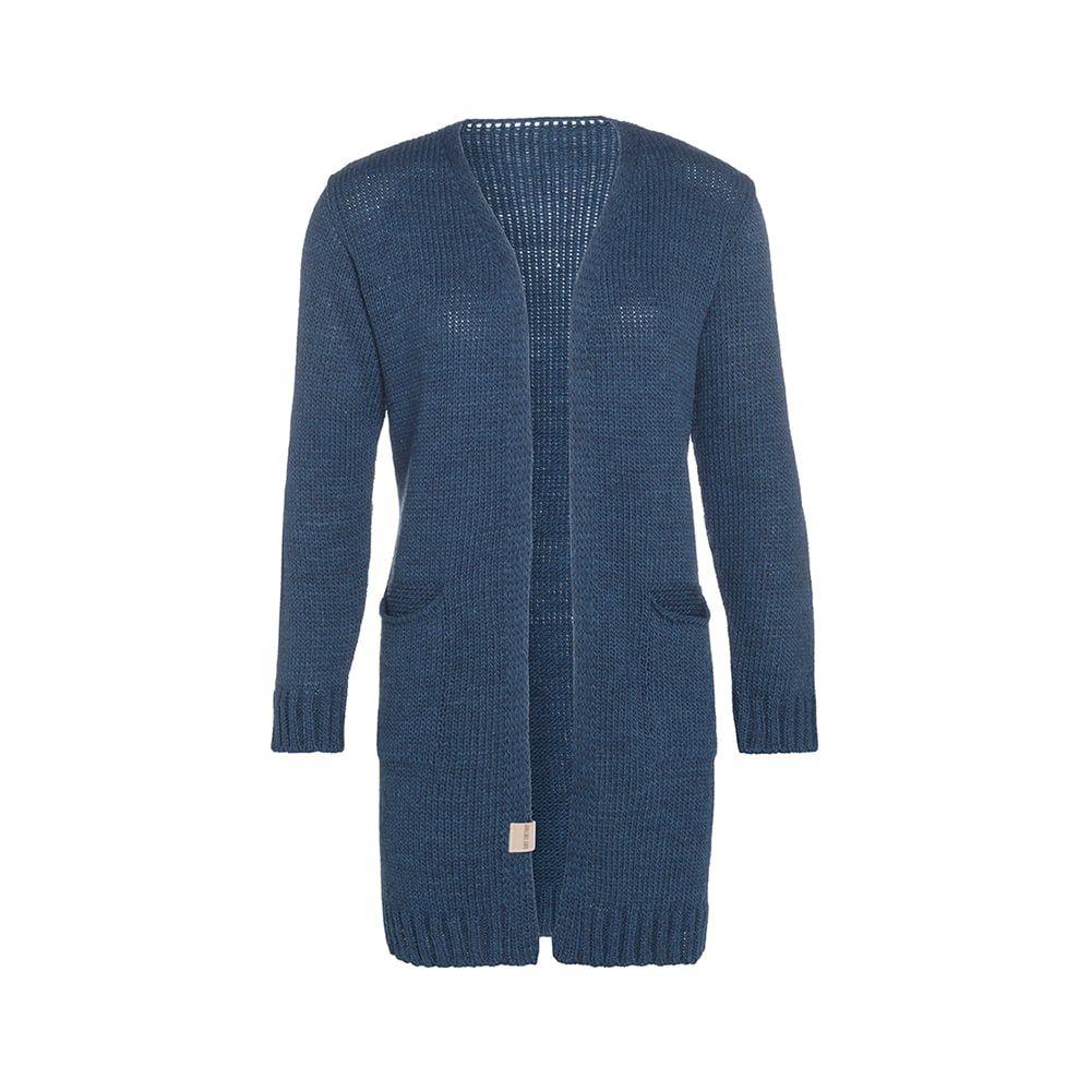 knit factory kf14008100849 ruby vest petrol 3638 1