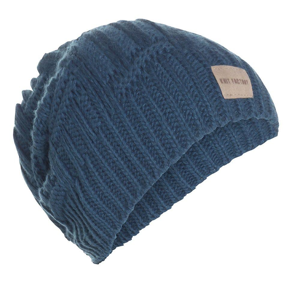 knit factory kf14407000850 bobby muts petrol 1