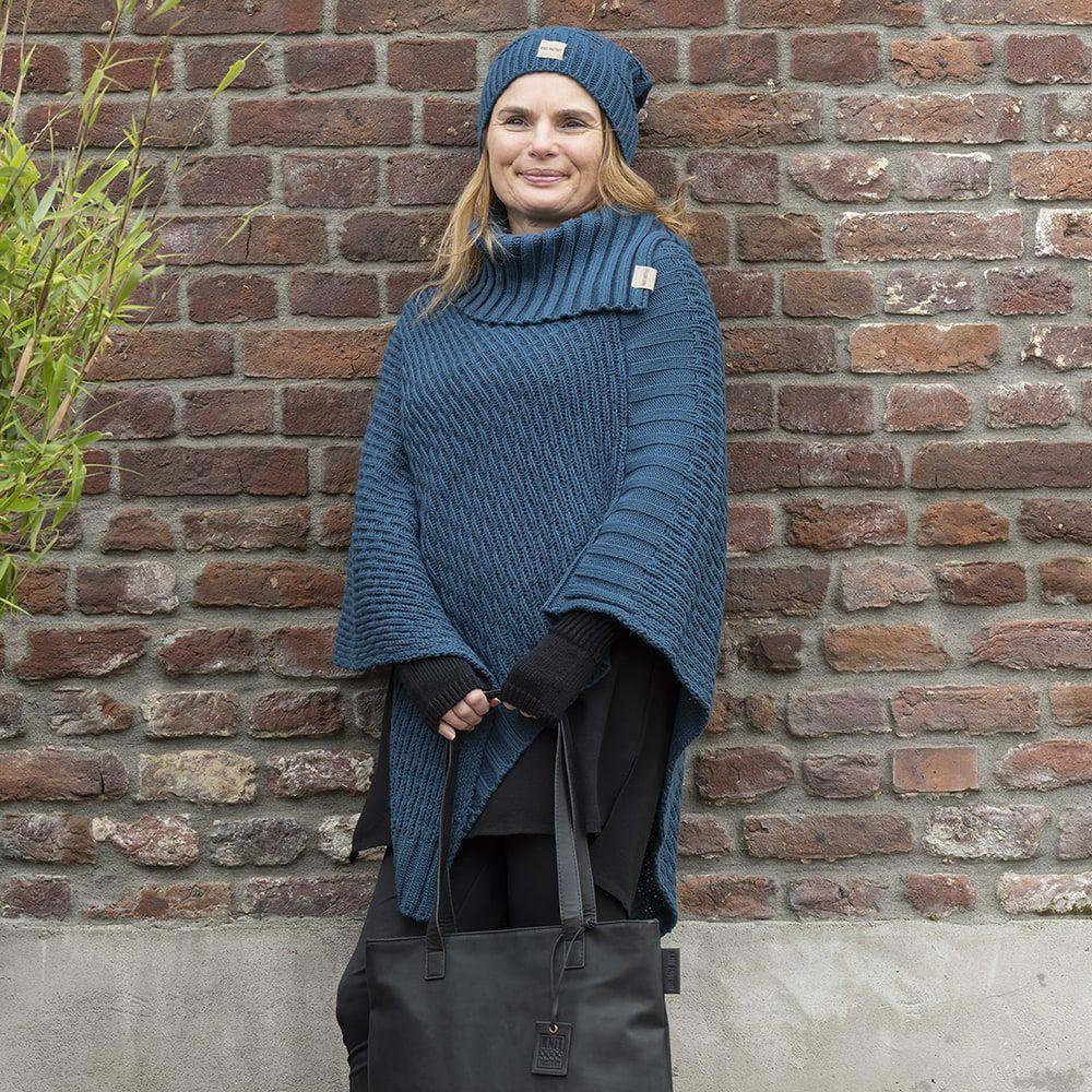 knit factory kf14407000850 bobby muts petrol 4