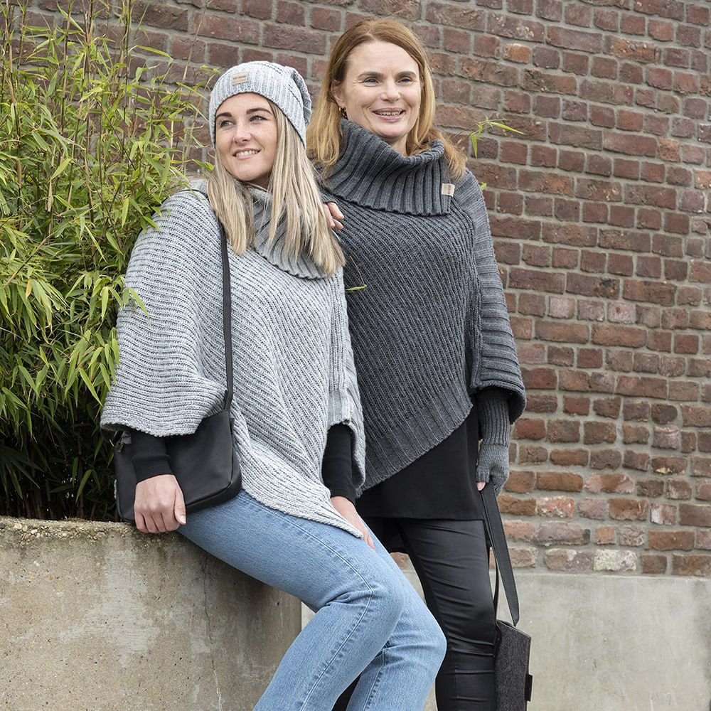 knit factory kf14407001150 bobby muts licht grijs 2
