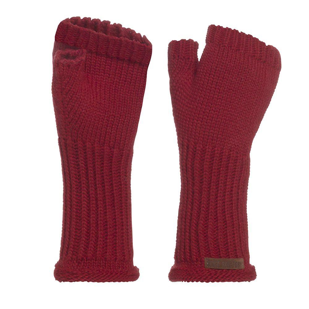 knit factory kf14607500350 cleo handschoenen bordeaux 1