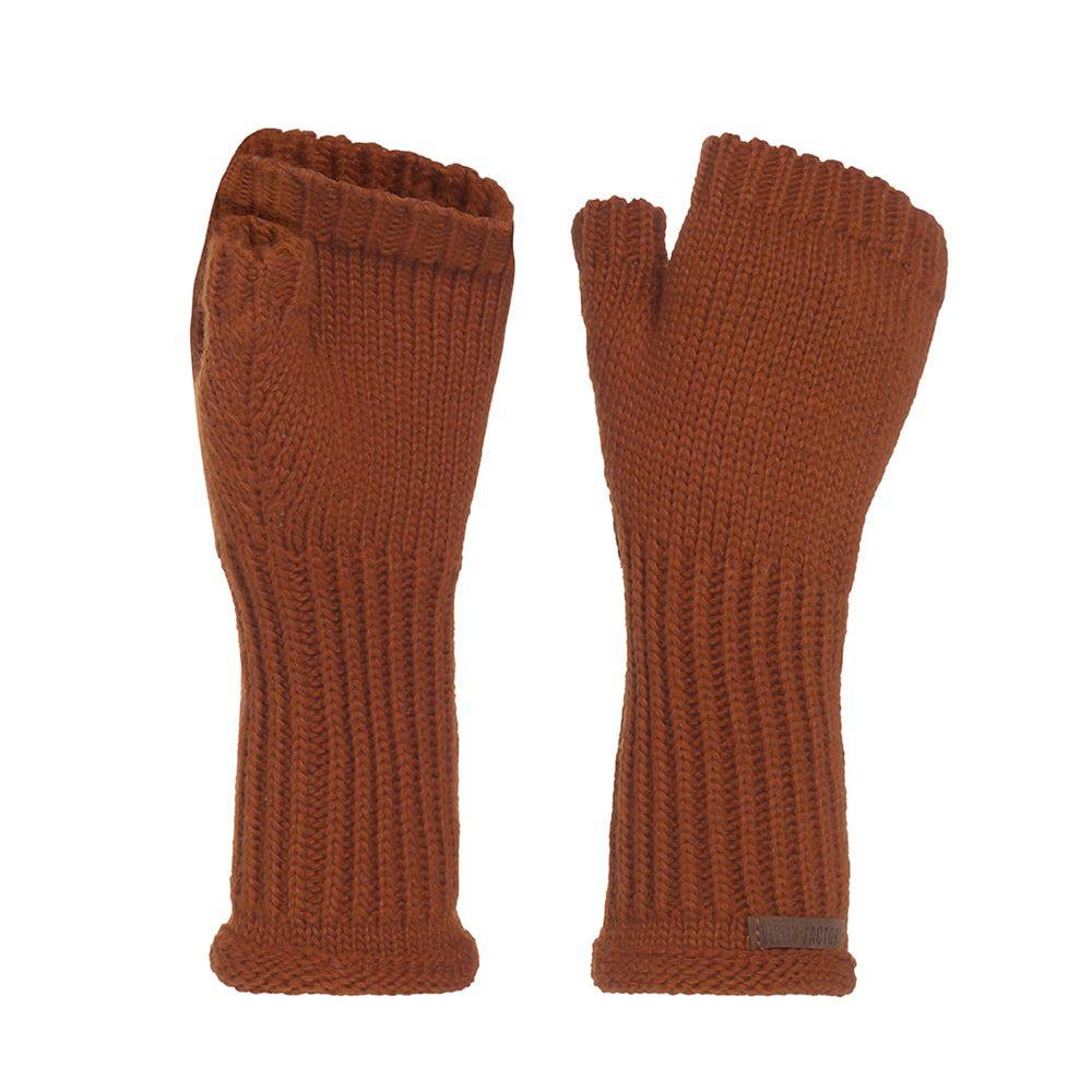 knit factory kf14607501650 cleo handschoenen terra 1