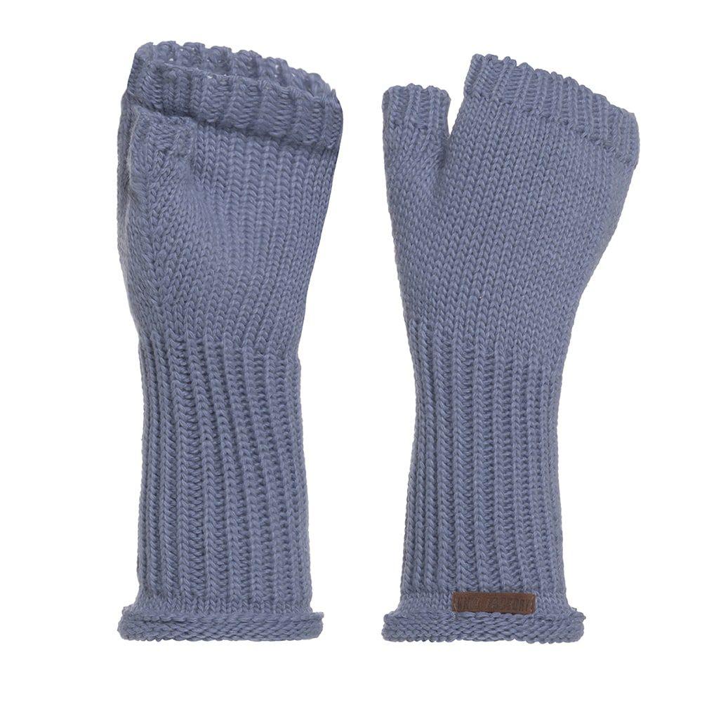 knit factory kf14607503250 cleo handschoenen indigo 1