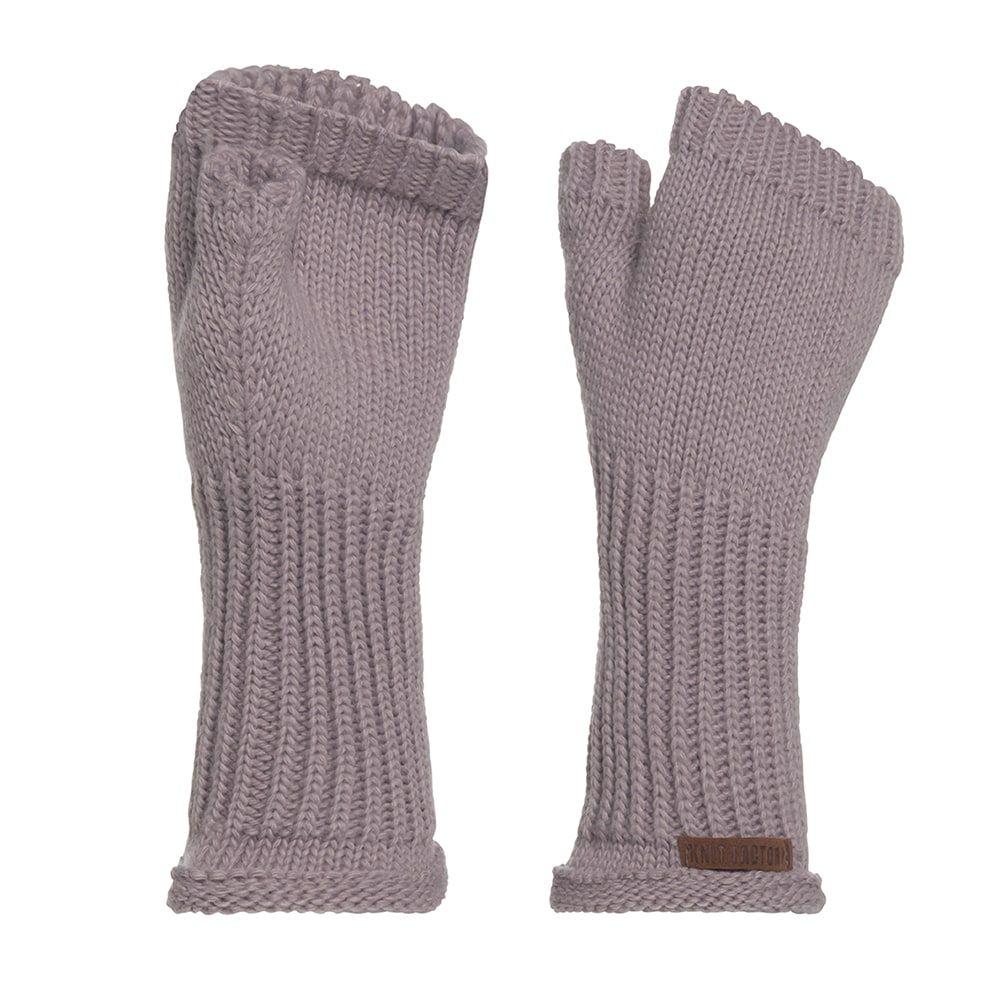 knit factory kf14607503450 cleo handschoenen mauve 1