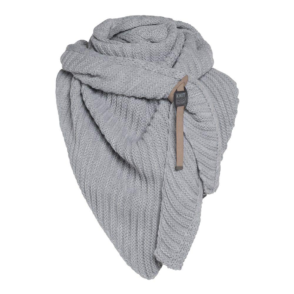 knit factory kf14706000050 demy omslagdoek zwart 3