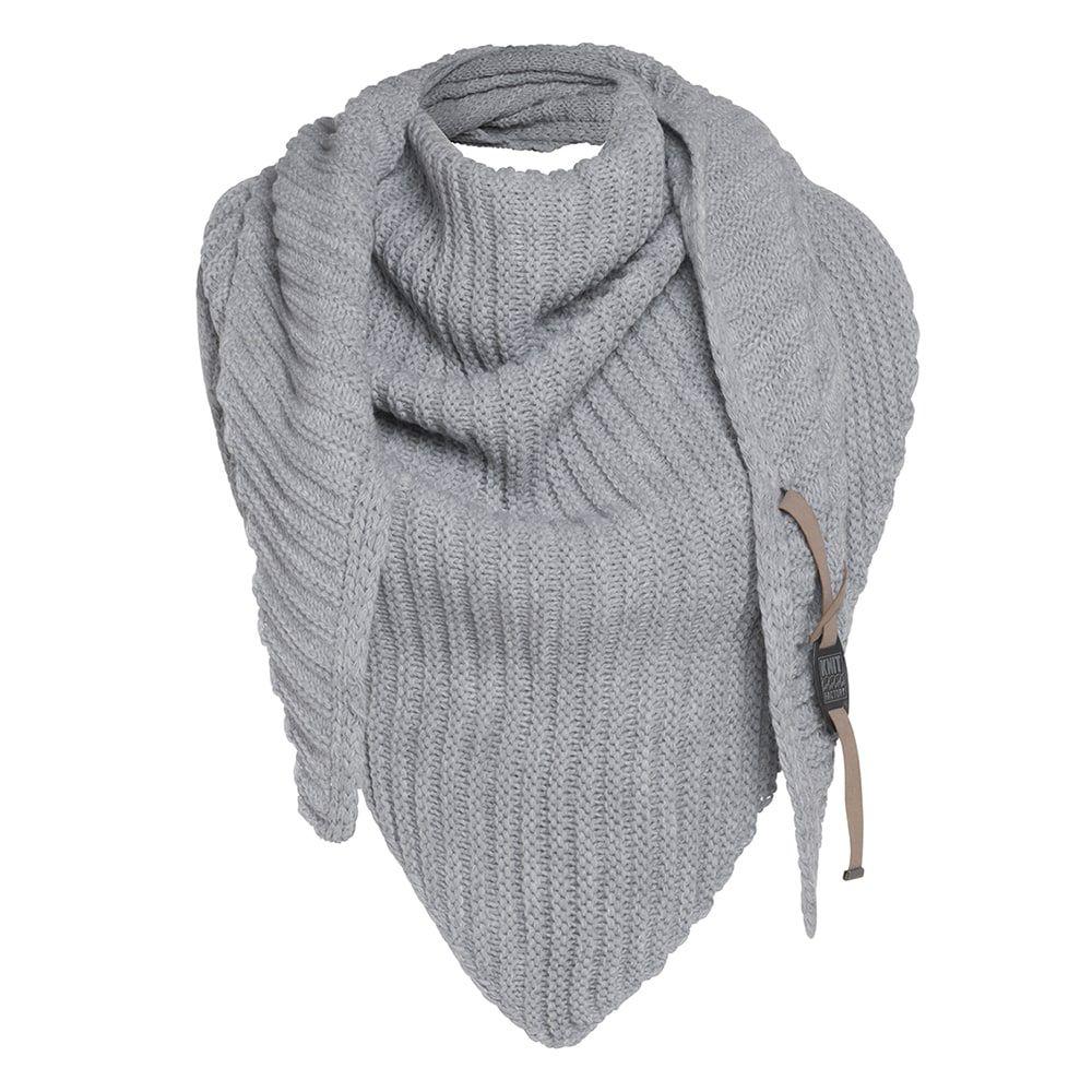 knit factory kf14706001050 demy omslagdoek antraciet 2