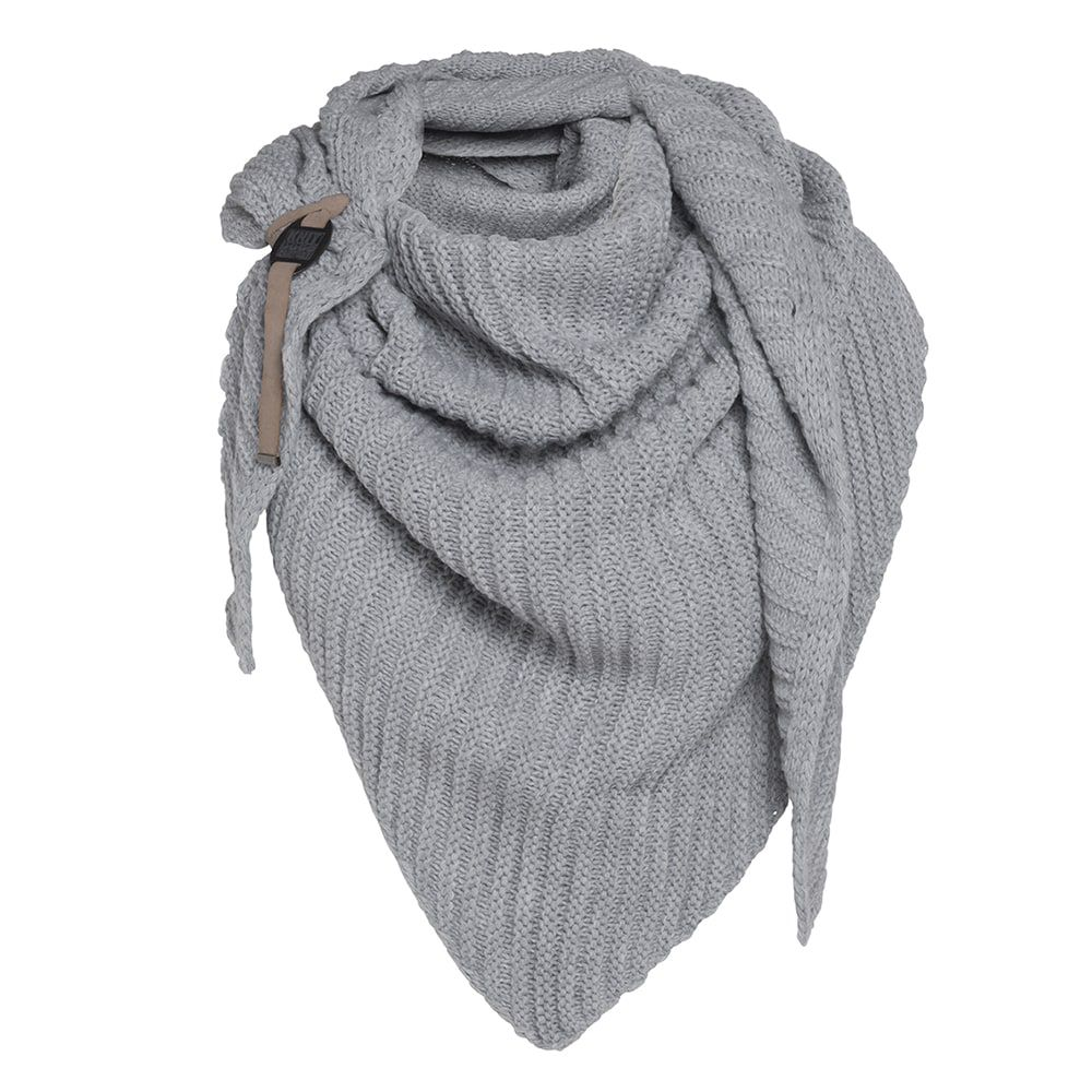 knit factory kf14706001150 demy omslagdoek licht grijs 1