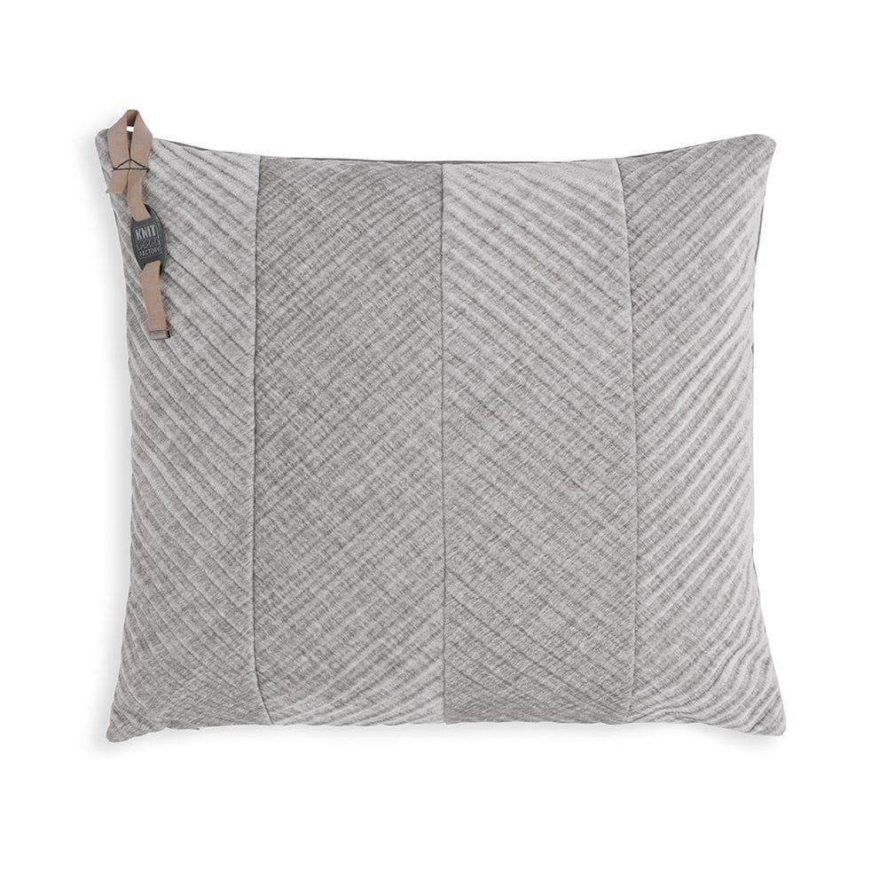 knit factory kf149012011 beau kussen licht grijs 50x50 1