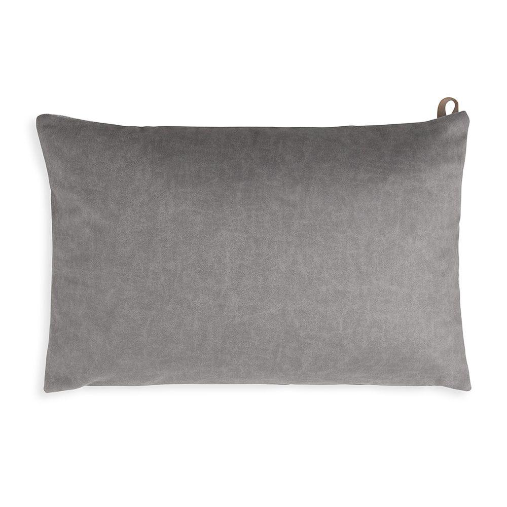 knit factory kf149013011 beau kussen licht grijs 60x40 2
