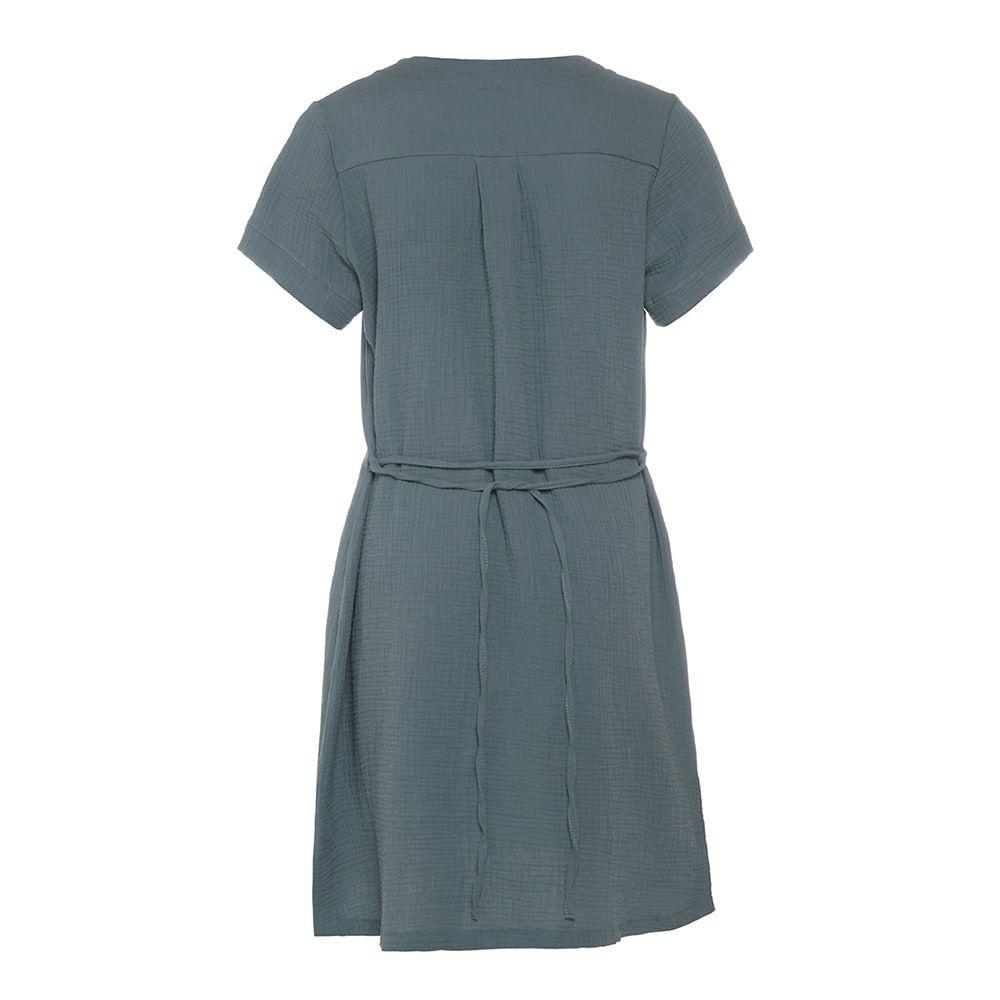knit factory kf15012000952 indy jurk stone green xl 2