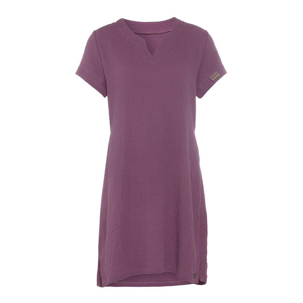 knit factory kf15012004352 indy jurk purple xl 1