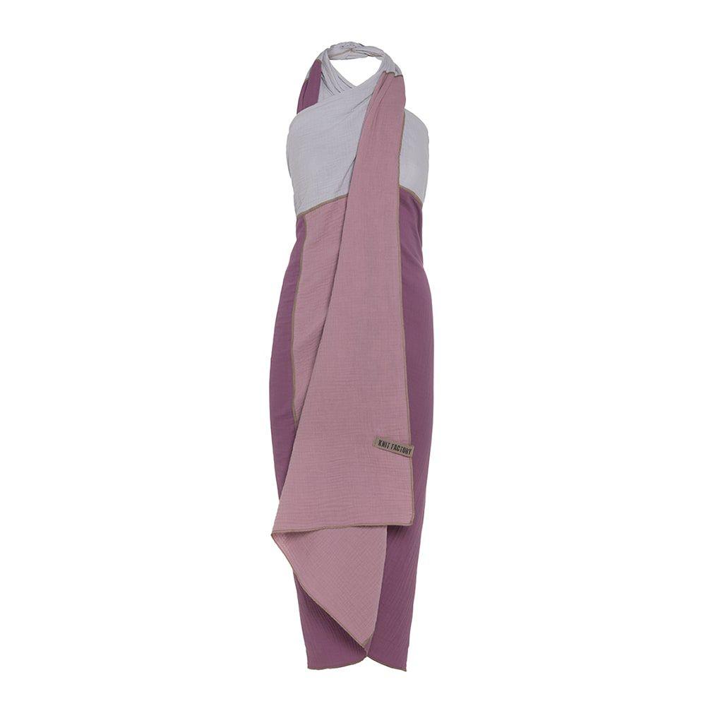 knit factory kf151056082 fay pareo violet lila 1