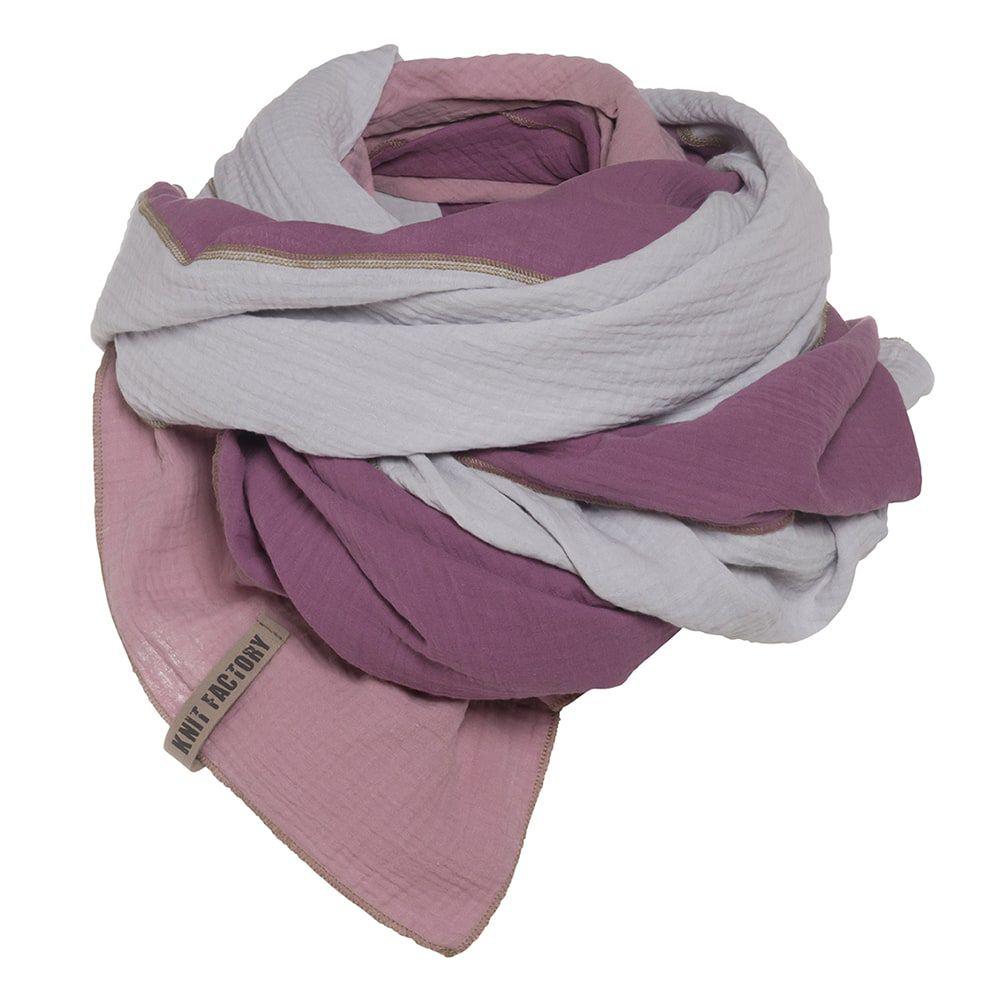 knit factory kf151056082 fay pareo violet lila 2