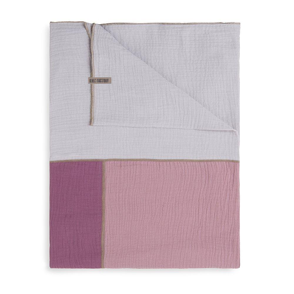 knit factory kf151056082 fay pareo violet lila 5