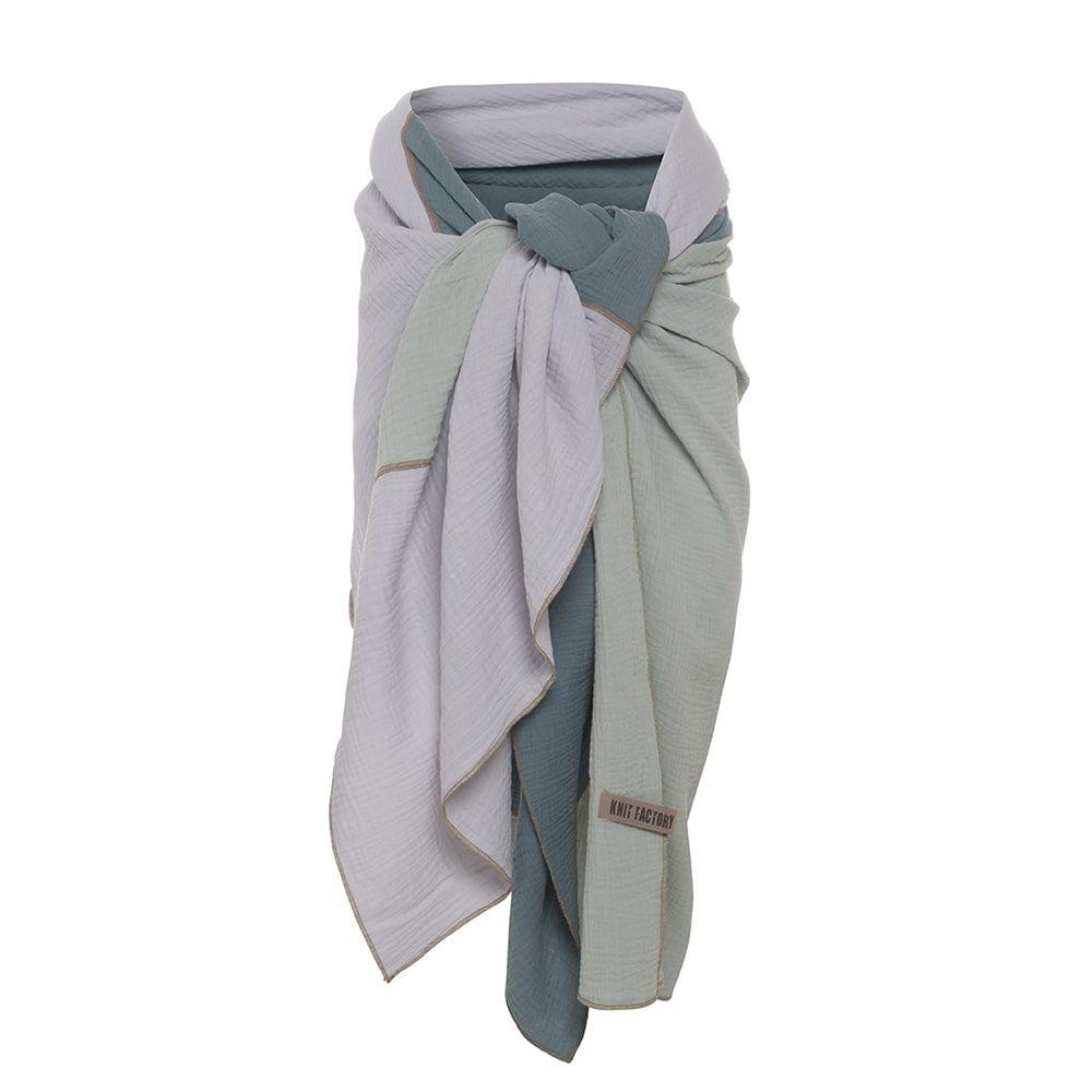 knit factory kf151056090 fay pareo stone green vintage green 4